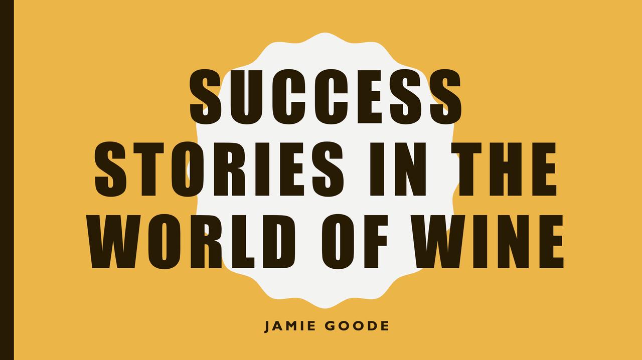 気鋭のワインジャーナリスト<br>ジェイミー・グッド氏<br>NAGANO WINEを語る