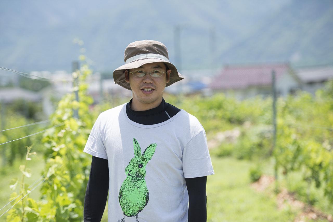 vol.22 キタムラヴィンヤード<br>北村 智洋さん<br><br>新規就農でワインづくりの夢を形に<br>