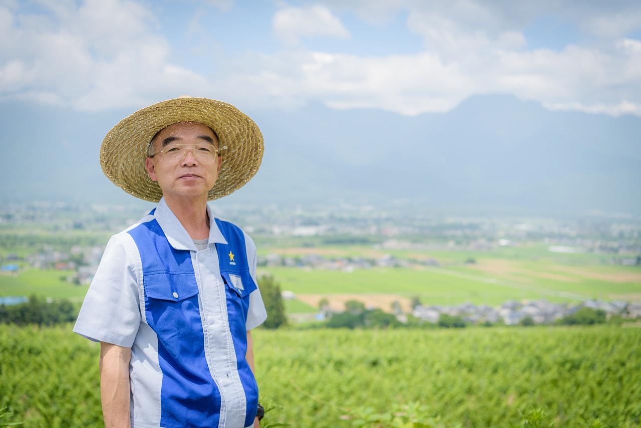 vol.42 サッポロ安曇野池田ヴィンヤード<br>田中 亘さん<br><br>プレミアムワインのための<br>ぶどう畑、ここにあり