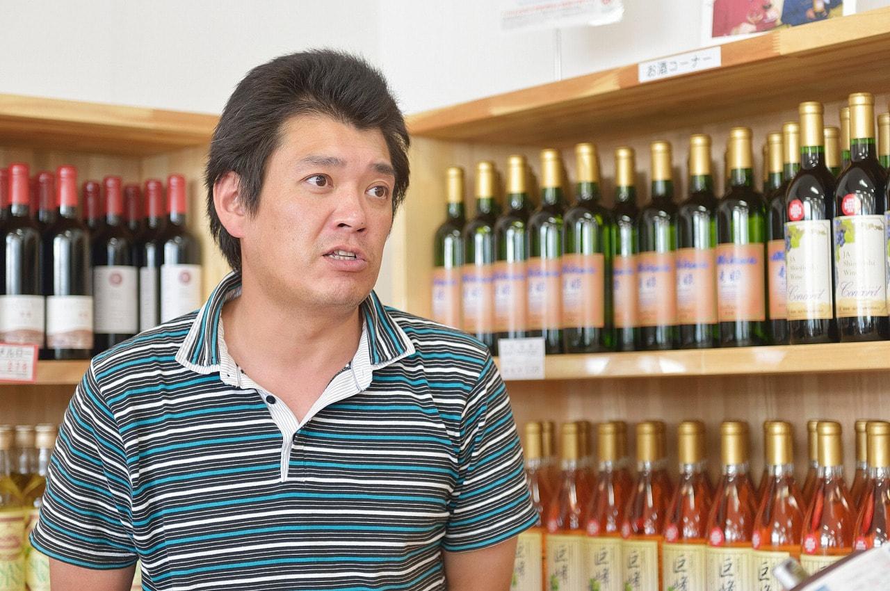 vol.31 JA塩尻市ワイナリー<br>唐沢 義信さん<br><br>地元産ぶどう100パーセント<br>農家と手を携えたワインづくり