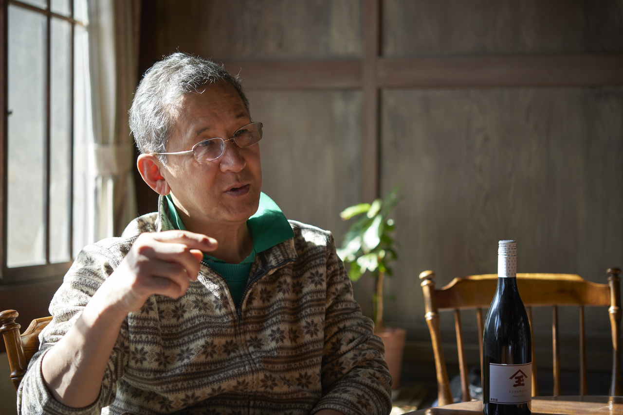 Vol.45 KODAMATEI 児玉邸<br>児玉 俊一さん<br><br>シルクからワインへ<br>旧家を守るため、ワイン造りを生業に