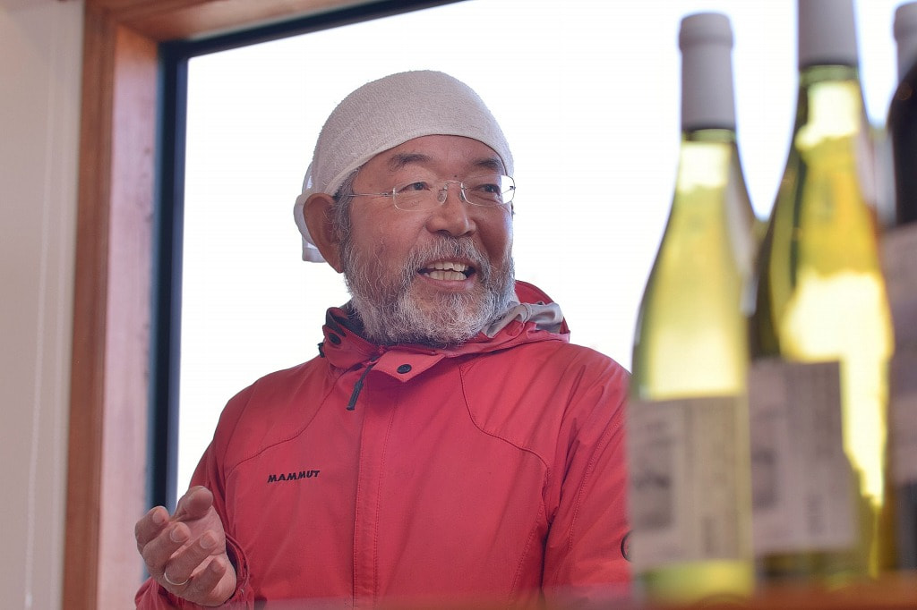 vol.28 VOTANO WINE<br>坪田 満博さん<br><br>洗馬の地で<br>ミネラル豊富なワインをつくる