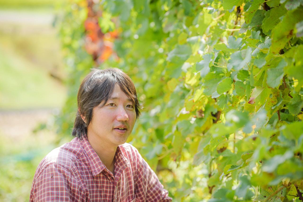 Vol.39 ドメーヌ ナカジマ<br>中島 豊さん<br><br>急斜面の畑で低農薬栽培<br>野生酵母で醸した自然派ワイン
