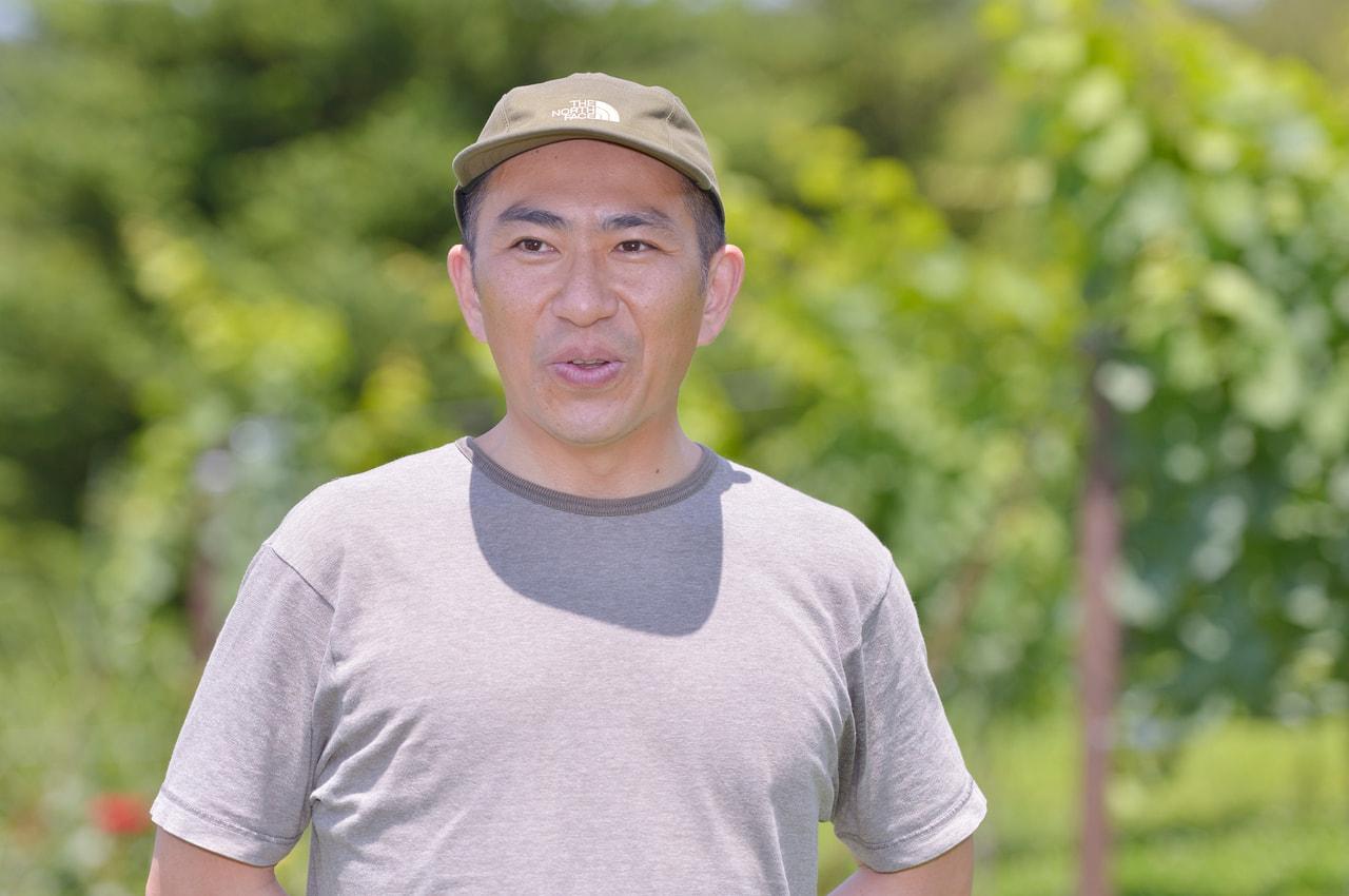 vol.25 ぼんじゅーる農園<br>蓑輪 康さん<br><br>日本の食事にふさわしい<br>「日本のワイン」を作りたい