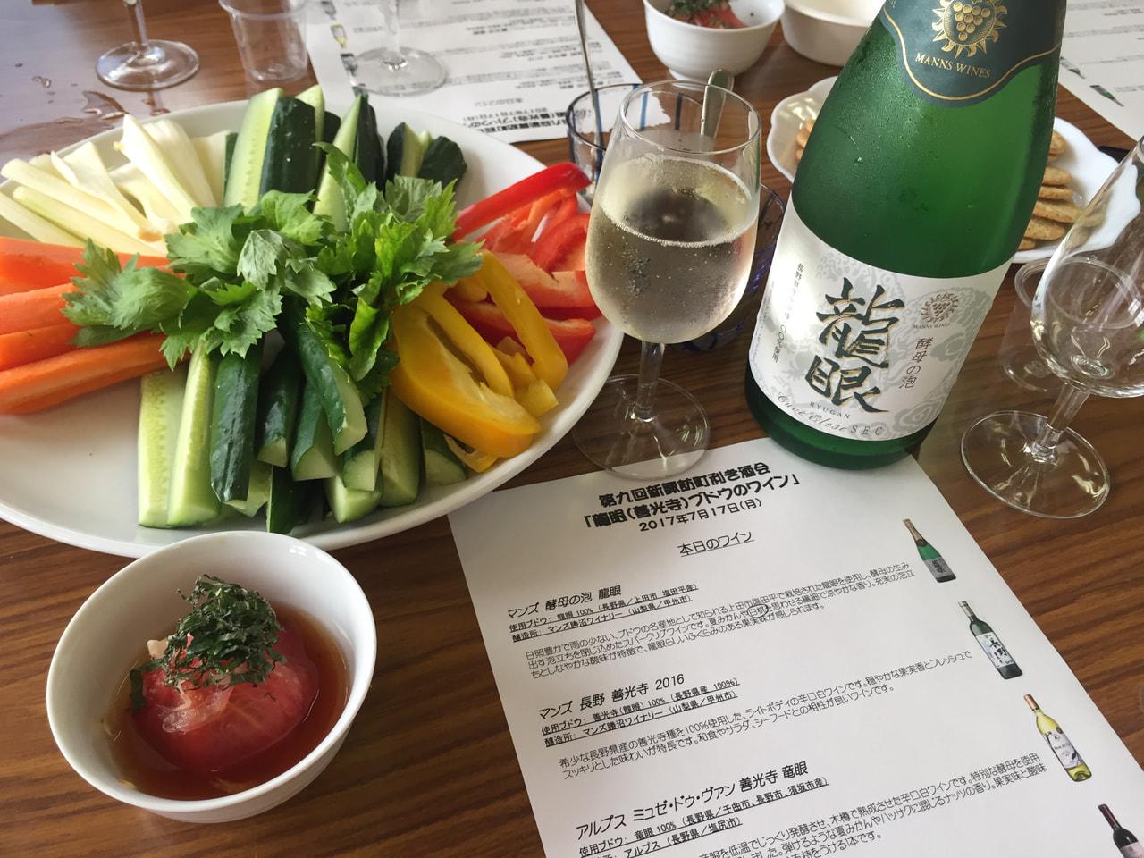 新諏訪公民館(長野市)の利き酒会