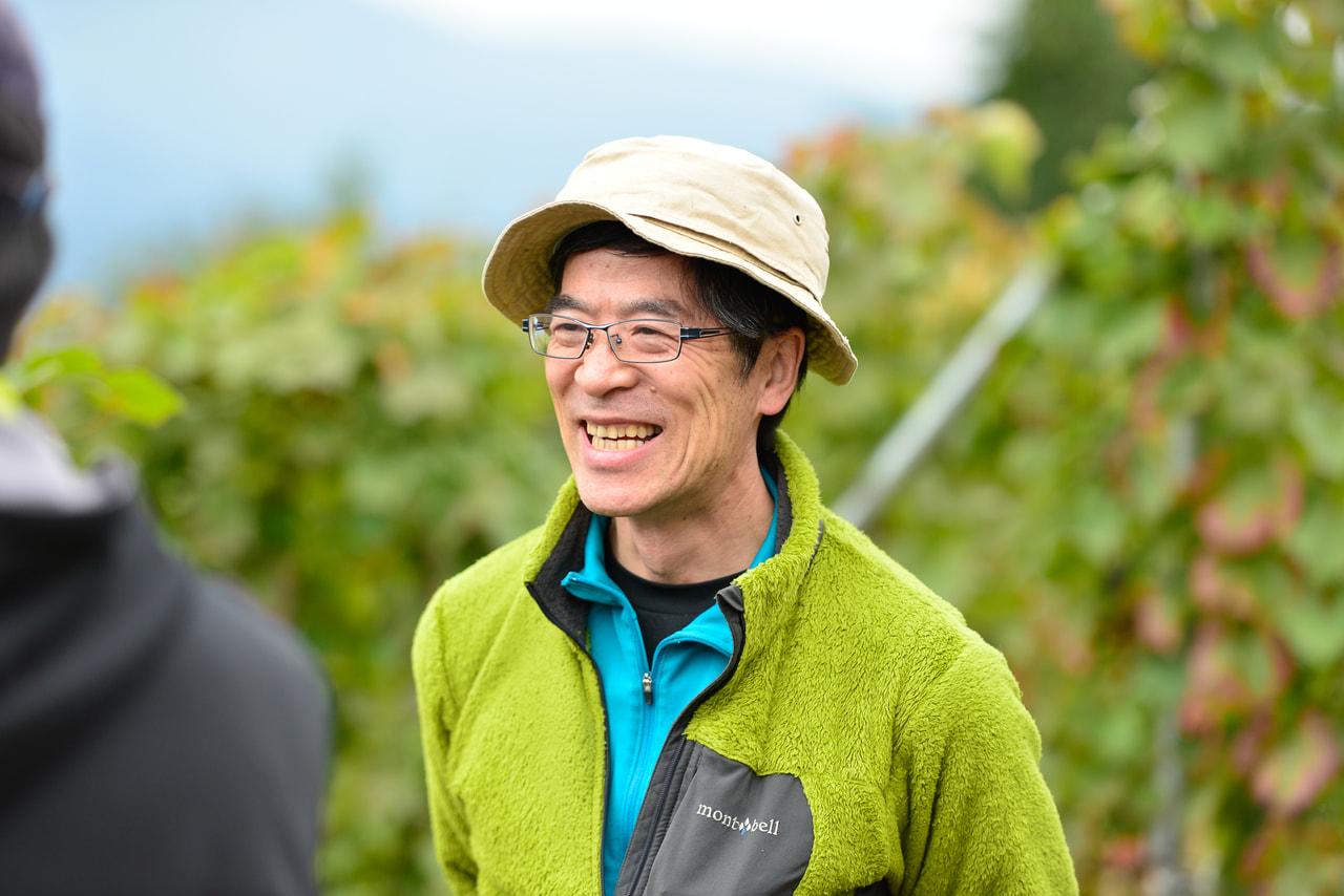 vol.37 中棚荘<br>富岡 正樹さん<br><br>藤村文学を育んだ旅の宿が<br>家族でぶどうを育て、ワインを醸す