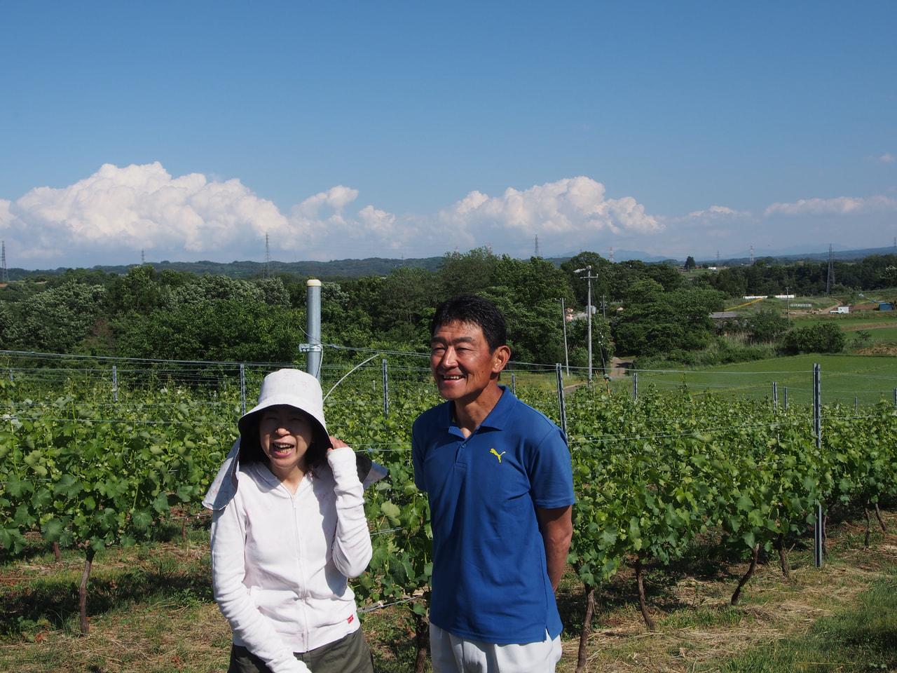 Vol.44 496ヴィンヤード<br>飯島規之さん・祐子さん<br>  <br>元プロサイクリストが八重原でつくるワイン