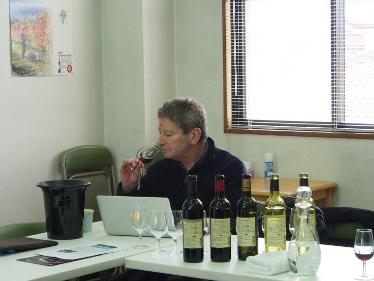 マスターオブワインのローズさん NAGANO WINEを取材