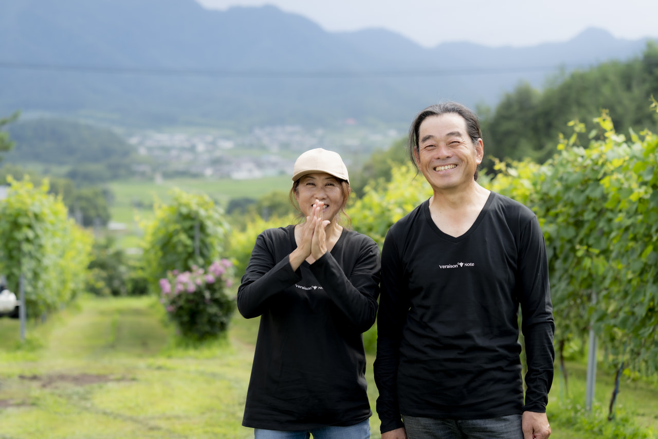 Vol.61 Veraison note<br>中川 裕次さん、櫻山 記子さん<br><br>無限の可能性を秘めた赤ワイン<br>
