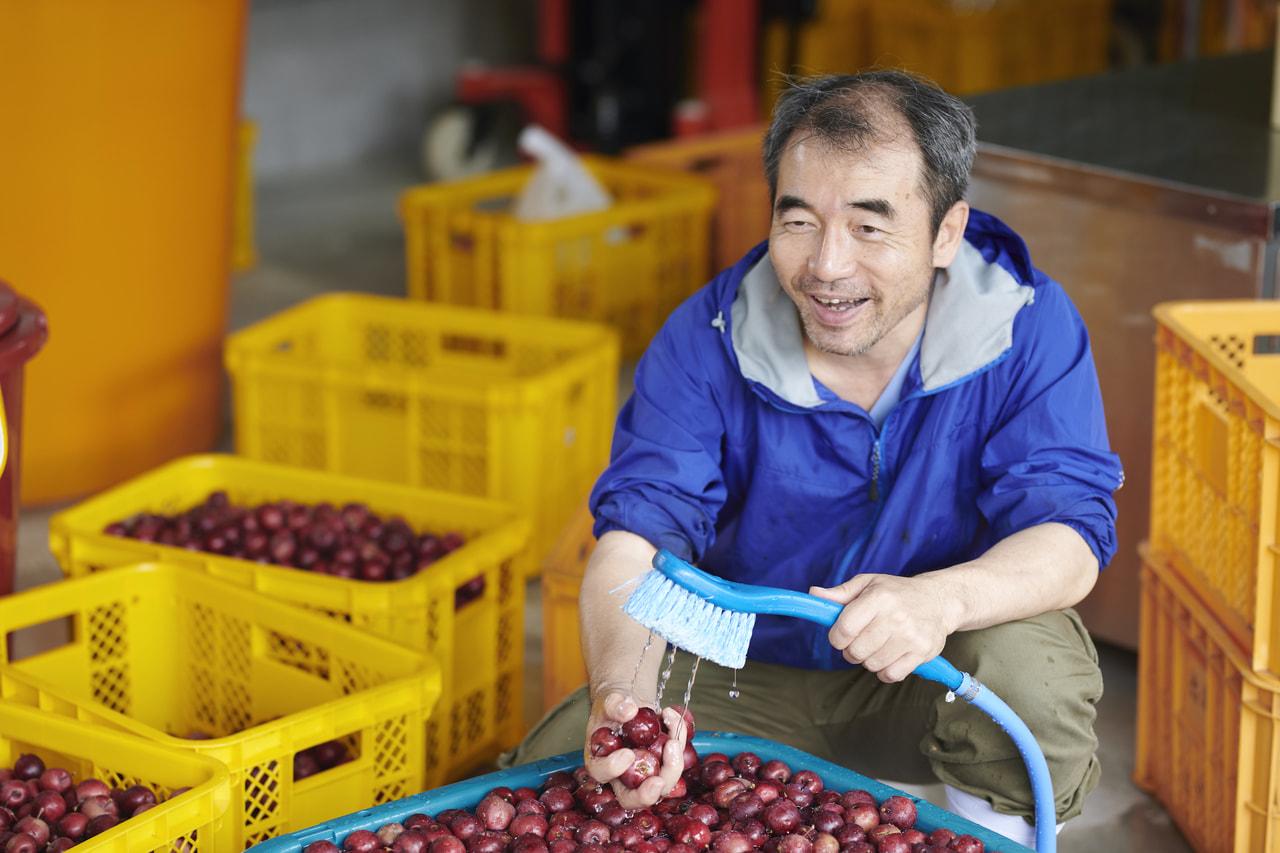 Vol.60 霧訪山シードル<br>徳永 博幸さん<br><br>自然栽培のりんごを<br>自然発酵させたシードル