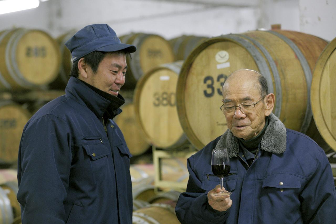 Vol.1 林農園/五一わいん<br>林 幹雄さん/添川一寛さん<br><br>目指すのは世界に通用する銘醸地