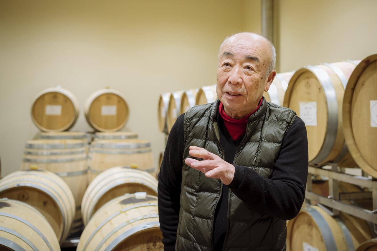 Vol.46 サンサンワイナリー<br>戸川 英夫さん<br><br>ベテラン醸造家が醸す美しいワイン<br>
