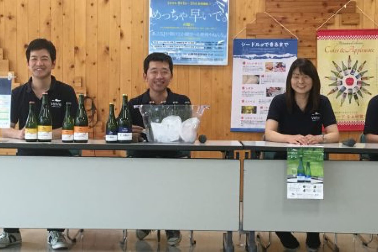 松川町のヴィンヤード、VinVie(ヴァンヴィ)が、世界初!蜂の酵母でシードルを開発