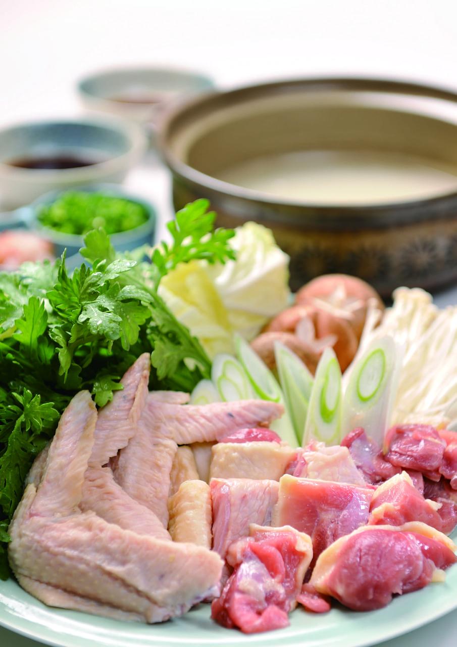 信州黄金シャモ(寄せ鍋)