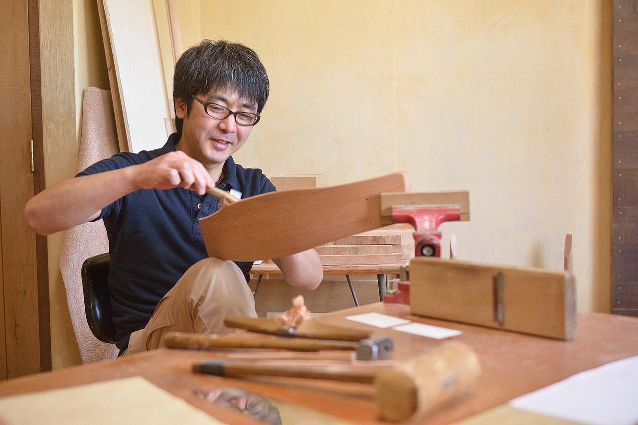 藤牧敬三さん|木工家