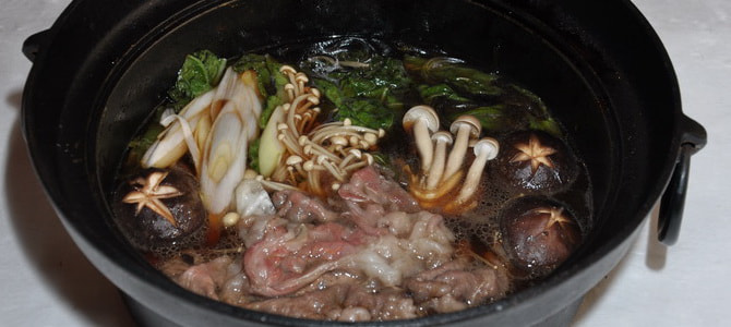Vol.35 信州牛と青菜のすき焼き風