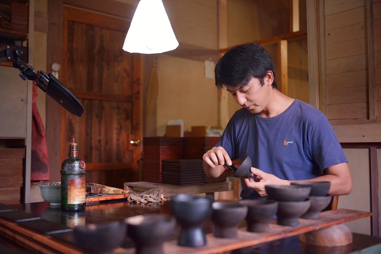 菅原利彦さん|木工・漆芸家