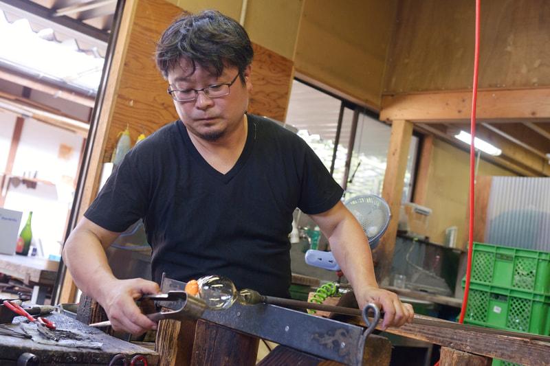 寺西将樹さん|ガラス作家