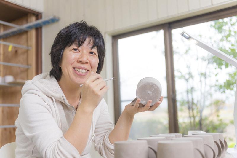 岡澤悦子さん|陶芸家