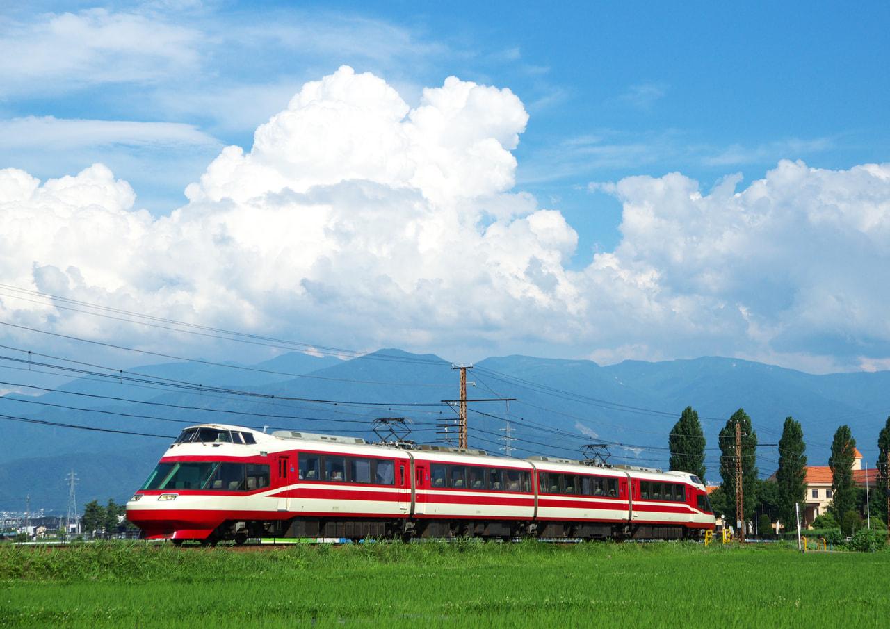 長野電鉄 ワイントレイン 2020(長野市)