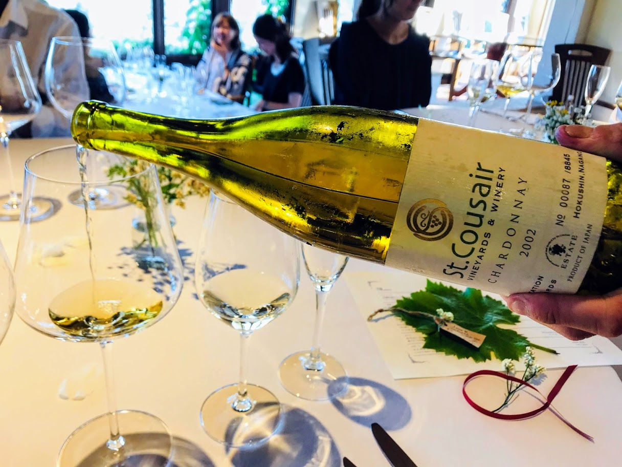 サンクゼールのワイン会「ヴィニュロンたちの食卓vol.24」