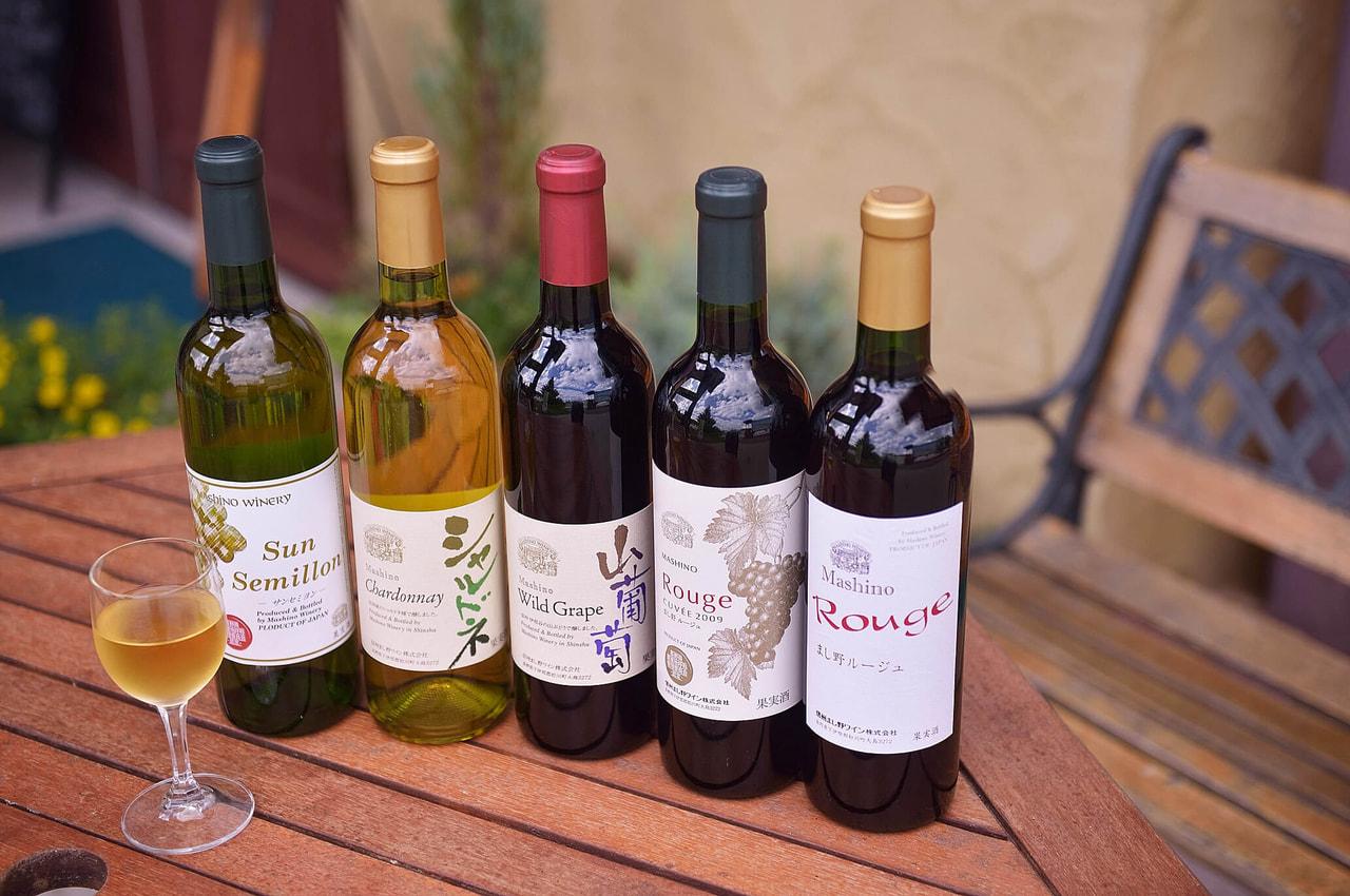 信州まし野ワイン